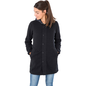super.natural Combustion Coat Women, jet black